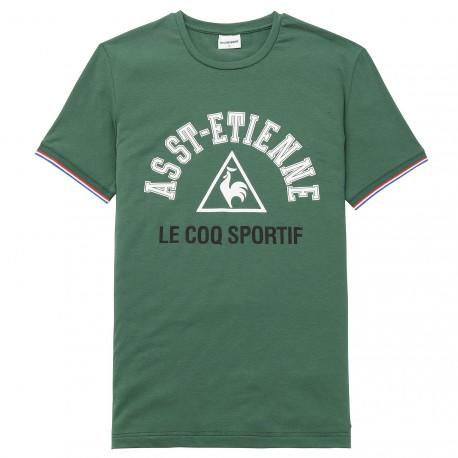 Tee-shirt ASSE FAN 1 vert 2017 - 2018 Le Coq Sportif
