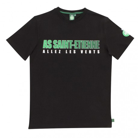 Tee-shirt ASSE enfant Noir 17/18