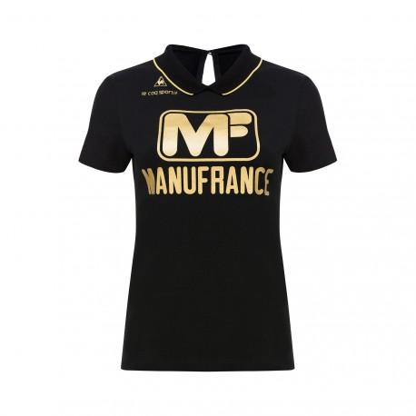 Polo ASSE Manufrance Femme Black Le Coq sportif