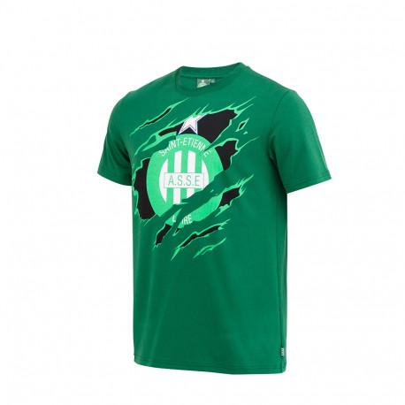 Tee-Shirt ASSE GRIFFE Vert 18/19
