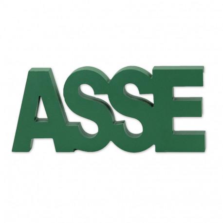 Lettres bois ASSE