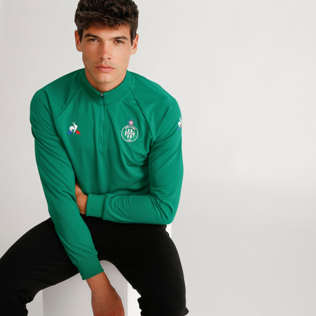 TRAINING SWEAT ASSE Le coq sportif VERT 2019 / 2020