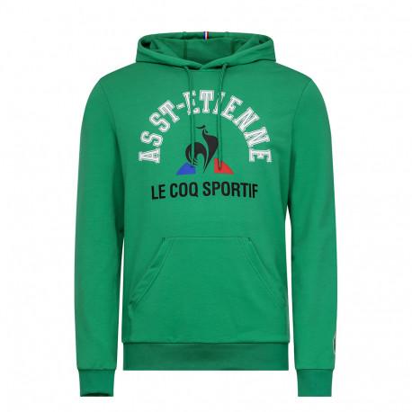 Sweat capuche Le Coq Sportif FAN N°2 VERT 2019 / 2020