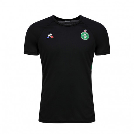 Training Tee-shirt Junior ASSE Le Coq sportif NOIR 2019 / 2020