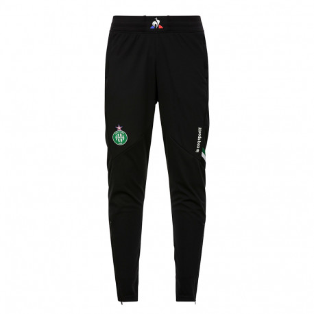 Training PANT Junior ASSE Le Coq sportif NOIR 2019 / 2020
