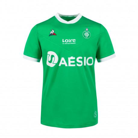 Maillot ASSE Enfant vert 2020 / 2021 Domicile Le Coq Sportif