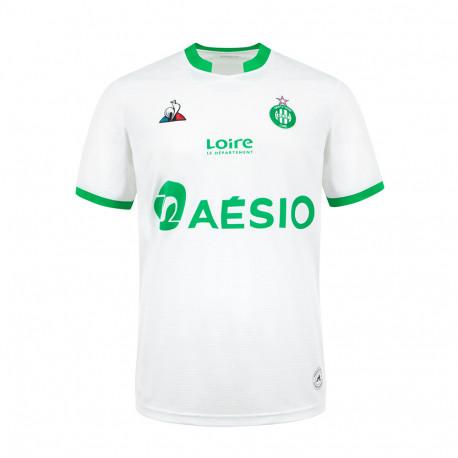 Maillot ASSE Blanc 2020 / 2021 Extérieur Le Coq Sportif