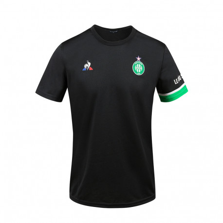 Tee Shirt ASSE Training Noir Le Coq Sportif 2020 / 2021