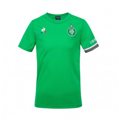 Tee Shirt ASSE Enfant Training Vert Le Coq Sportif 2020 / 2021