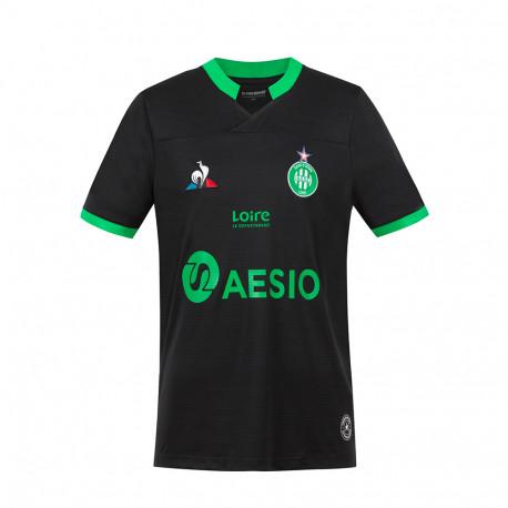 Maillot ASSE Enfant noir 2020 / 2021 Third Le Coq Sportif