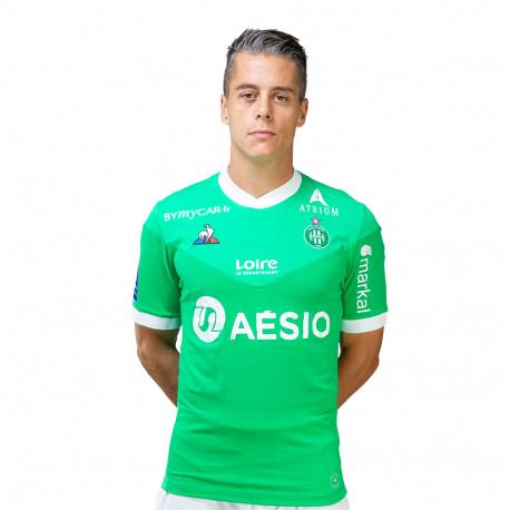 Maillot pro ASSE vert 2020 / 2021 Le Coq Sportif