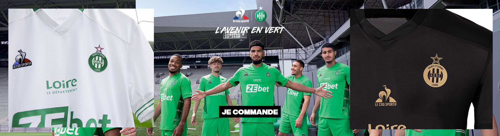 Maillots ASSE 2021 - 2022