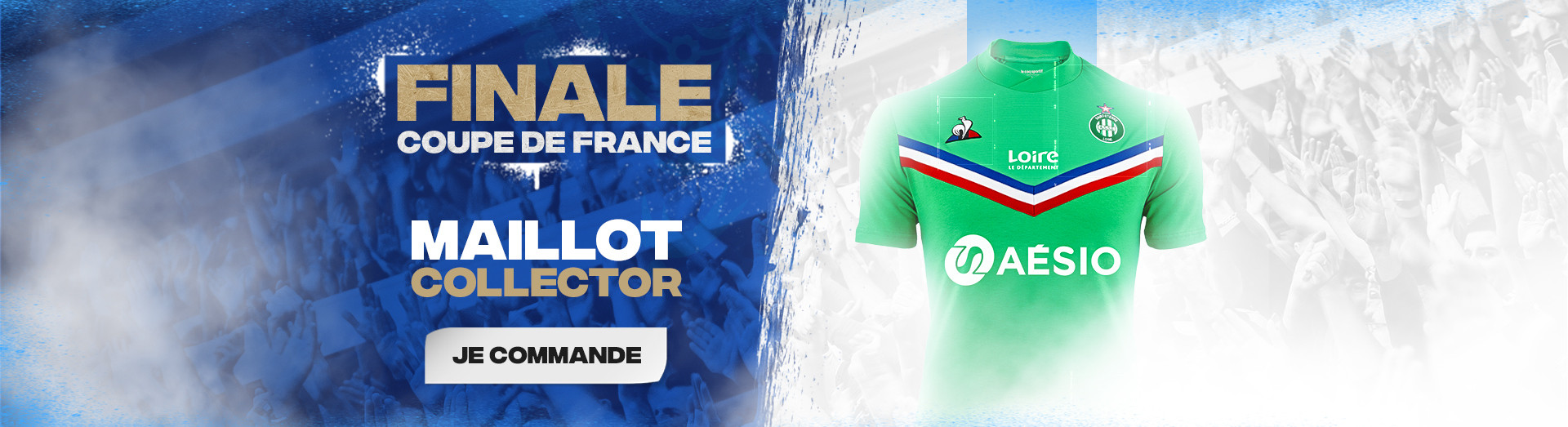 Maillot ASSE Collector