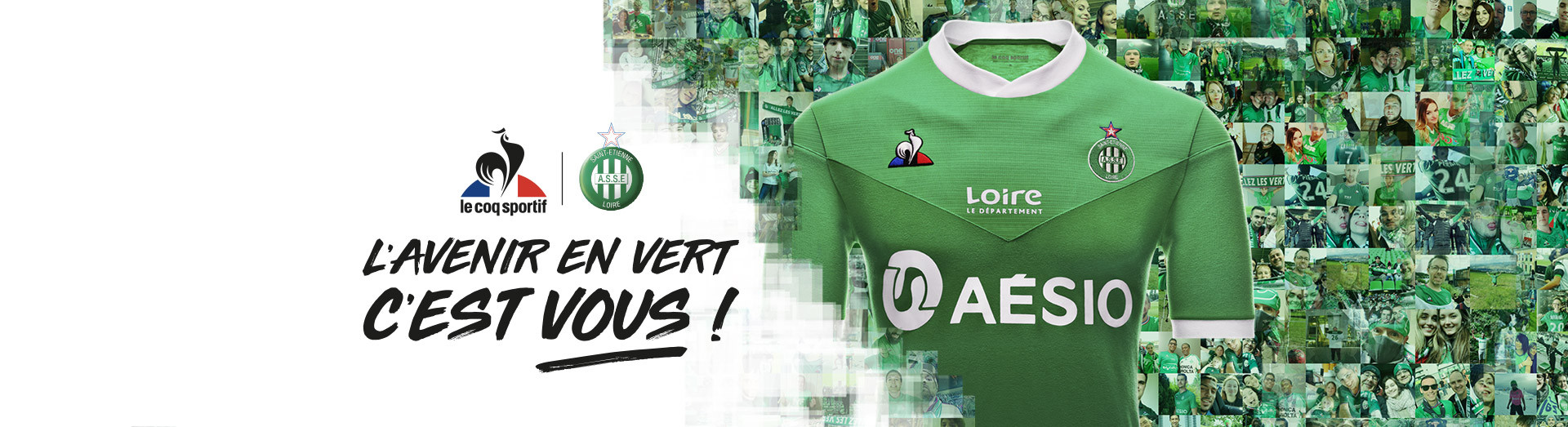 Maillots ASSE 2020 / 2021