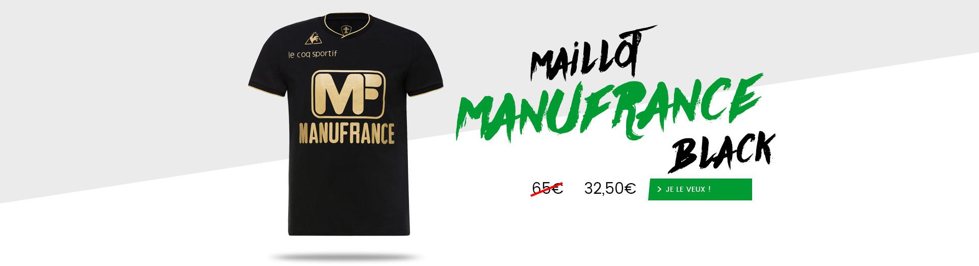 Maillot Manufrance Black à -50%